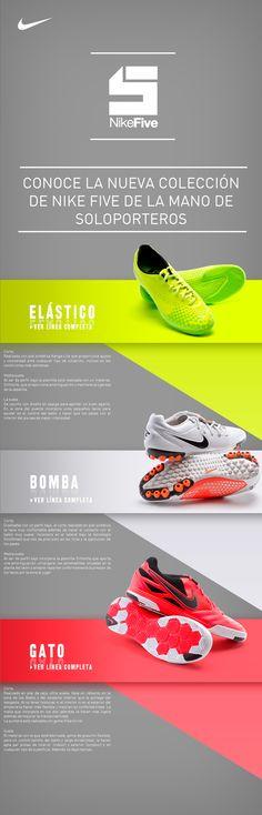 856dc535878b8 Nuevas zapatillas de fútbol sala NikeFive
