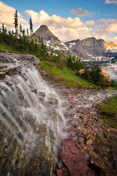 One Step Beyond - Hidden Lake, Glacier National Park, Montana, USA