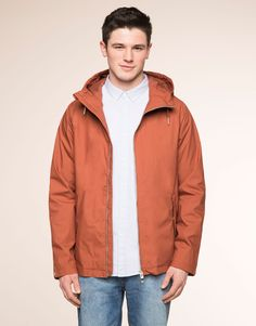 COTTON HOODED JACKET - NEW PRODUCTS - NEW PRODUCTS - PULL&BEAR United Kingdom