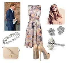 """Duchess hiding Bump while out at event with Harry"" by royal-fashion ❤ liked on Polyvore featuring L.K.Bennett, Sergio Rossi, Forever 21, Blue Nile and Effy Jewelry"