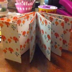 My first matchbook mini album...I made a few mistakes but it literally took 5 minutes to cut and assemble.  I watched My Craft Channel and got the idea and instructions from Teresa Collins. She is awesome!!