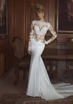 I would have totally done this dress when I was younger... The Most Beautiful Wedding Dresses Laisha Production 2014