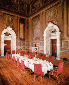 The Saloon - Blenheim Palace - Oxfordshire - England