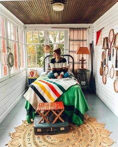 An Autumn Escape with Joss and Main - Kindred Vintage Lake Cabins, Cabins And Cottages, Apartment Therapy, House In The Clouds, Vintage Cabin, Lake Cottage, Lakeside Cottage, Lodge Decor, Cabin Interiors