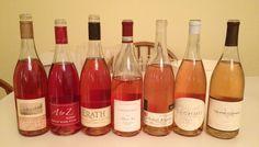 look at this gorgeous rosé rainbow of Willamette rosés