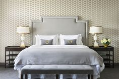 Trellis wallpaper - Osborne & Little