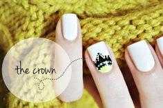 The Crown Nail Art