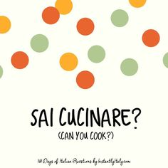 90/100 - 100 Days of Italian Questions on Instagram