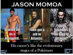 Pokemon Evolution by Jason Momoa