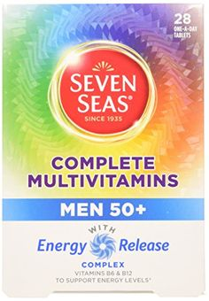 The Product Seven Seas Complete Multivitamins Men 50+, 28 Tablets  Can Be Found At - http://vitamins-minerals-supplements.co.uk/product/seven-seas-complete-multivitamins-men-50-28-tablets/