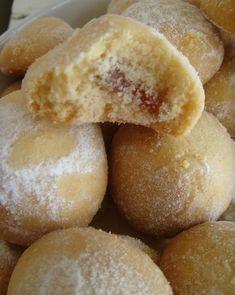 Damak Tadı: Lokumlu Kurabiyeler Doughnut, Hamburger, Bread, Cookies, Desserts, Recipes, Food, Crack Crackers, Tailgate Desserts