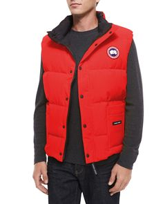 Canada Goose expedition parka outlet fake - Canada Goose Freestyle Vest - Red | Canada goose | Pinterest ...