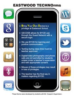 One High School's BYOD ground rules