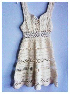 Free Crochet Dress Patterns In English : Free Crochet Dress Pattern crochet Pinterest Crochet ...