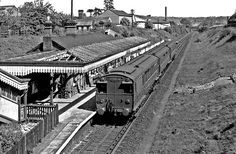 Watford West station late 1950s