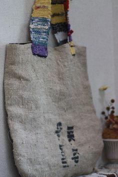 SAKIORI bag  koron007 裂き織り