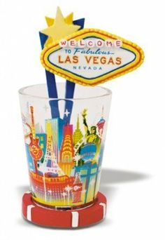 Skyline Brilliance Novelty Shot Glass  #TikiMaster #Home