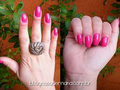Esmalte Beauty Color Pink Tulipa www.blogcasademaria.com.br