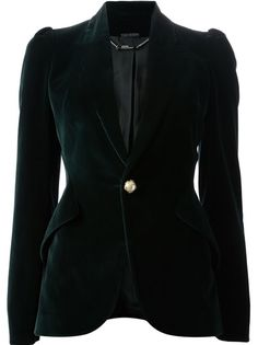 ALEXANDER MCQUEEN - one-button blazer 7