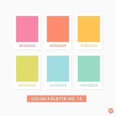 Color Palette No. 16 Informations About Color Palette No. 16 Pin Y Flat Color Palette, Pastel Colour Palette, Color Palate, Pastel Colors, Vibrant Colors, Pantone Colour Palettes, Pantone Color, Summer Color Palettes, Orange Color Palettes