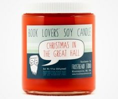 Christmas in the Great Hall Soy Candle
