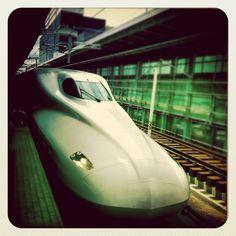 Nozomi, el tren bala japonés.