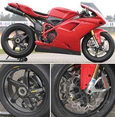 Dymag Ducati 1098 Carbon Wheels