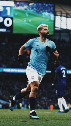 Best Football Players, Nike Football, Soccer Players, Everton, Manchester City Wallpaper, Manchester United, Fifa Games, Sergio Aguero, Kun Aguero