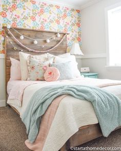 My Daughters' Rooms Reveal My Daughters' Rooms Reveal,Schlafzimmer My Daughters' Rooms Reveal, rustic girl bedroom decor, rustic girl bedroom design with palette bed, teen girl bedroom decor Rustic Girls Bedroom, Bedroom Decor For Teen Girls, Girl Bedroom Designs, Teen Girl Bedrooms, Little Girl Rooms, Home Decor Bedroom, Bedroom Ideas, Unique Teen Bedrooms, Preteen Girls Rooms