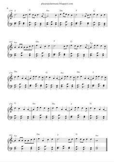 shape of you piano sheet music pdf