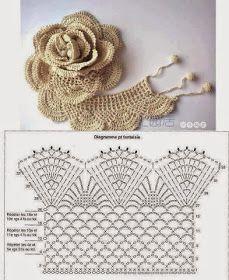 Flores de Crochê - PAP - Retalhos de Algodão