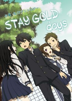 Let's spread Hyouka to all over the world with us to get an anime stuff you want free. Manga Love, I Love Anime, Anime Guys, Anime Chibi, Kawaii Anime, Anime Art, Black Hair Brown Eyes, Hyouka Chitanda, Charlotte Anime