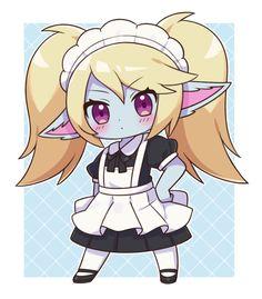 Poppy League, League Of Legends Poppy, League Of Legends Characters, Lol League Of Legends, Im Poppy, Anime Artwork, Monster Girl, Kawaii Girl, Funny Games