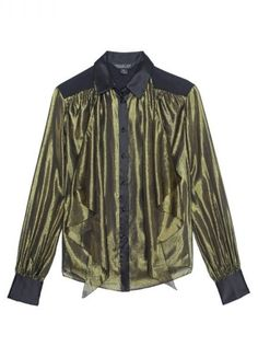 """This is one of those blouses that takes you from day to night perfectly. If you find a stand-out piece like this that you love, my advice is to make the investment!"""