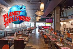 2-Course Planet Hollywood Meal for 2