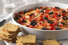 Chicken Fiesta Dip - Super Yummy Recipes - http://masterforks.com/chicken-fiesta-dip-super-yummy-recipes/