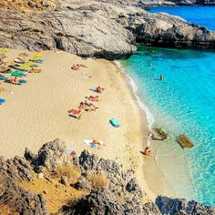Amoudaki beach, Rethymno, Crete, Greece