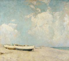 """Summer Clouds,"" Emil Carlsen, ca. 1912, oil on canvas, 39 1/8 x 44 15/16"", Pennsylvania Academy of the Fine Arts."