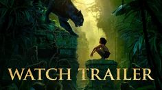 """Disney's Jungle Book Trailer, """"The Jungle Book"""" is an all-new live-action epic adventure about Mowgli (newcomer Neel Sethi), a man-cub raised in the jungle by a family of wolves, who embarks on a captivating journey of self-discovery when he's forced to abandon the only home he's ever known. ,"""