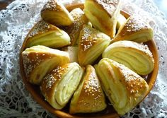 Hungarian Recipes, Bread And Pastries, Holiday Dinner, Bread Recipes, Bakery, Food And Drink, Snacks, Eat, Cooking