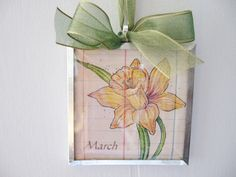 Check out this item in my Etsy shop https://www.etsy.com/listing/194396086/birth-month-flower-march-daffodil-3x3