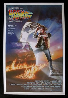 I watched Back To The Future with my kids and they loved it. When Christopher Lloyd got out of the Delorean for the first time my youngest yelled 'It's Elvis'. I said 'No sweetie, that's Jim from Taxi'.