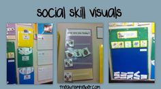 Keys to a Successful Morning Time for An Autism Class {social skills visuals for multiple levels} by theautismhelper.com