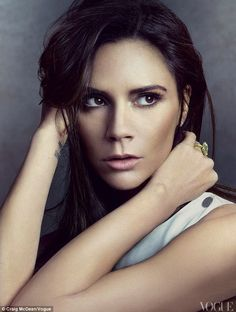 Victoria Beckham | Vogue April 2012