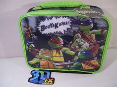 Ninja Turtles Lunch Bag Box Kit Lenticular BOOYAKASHA NEW TMNT #NickelodeonNinjaTurtles