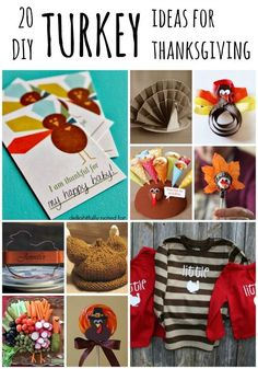 20 DIY turkey ideas for Thanksgiving