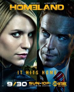 Homeland: Completely, totally, absolutely obsessed with this show. It's my husband's and my weekly date night show.