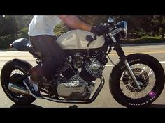 ▶ 1982 Yamaha Virago XV750 Custom Cafe Racer - YouTube
