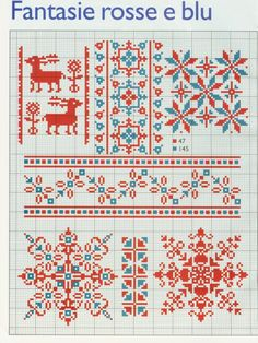 Cross stitch or filet crochet Winter/Christmas inspired chart Xmas Cross Stitch, Cross Stitch Borders, Crochet Borders, Cross Stitch Designs, Cross Stitching, Cross Stitch Embroidery, Embroidery Patterns, Cross Stitch Patterns, Filet Crochet