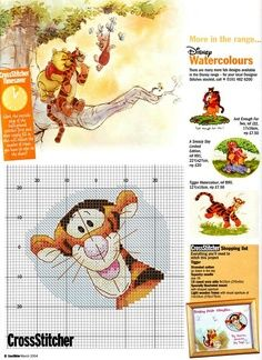 cross stitch patterns tigger | Cross Stitching Patterns